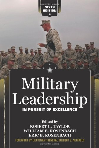 Military Leadership In Pursuit of Excellence 6th 2009 (Revised) edition cover
