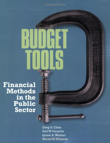 Budget Tools Financial Methods in the Public Sector  2008 (Revised) edition cover