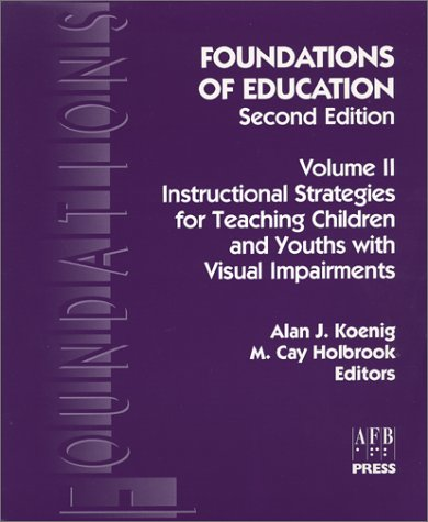 Foundations of Education Instructional Strategies 2nd 2000 9780891283393 Front Cover