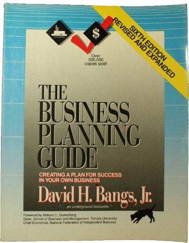 Business Planning Guide 6th edition cover