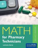 Math for Pharmacy Technicians  2nd 2014 edition cover