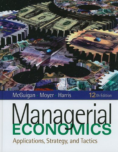 Managerial Ecobnomics  12th 2011 edition cover