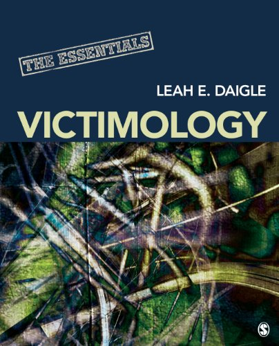 Victimology The Essentials  2013 edition cover