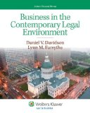 Business in the Contemporary Legal Environment:   2013 edition cover