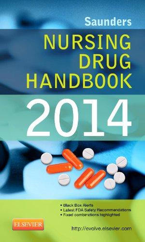 Saunders Nursing Drug Handbook 2014   2014 9781455707393 Front Cover