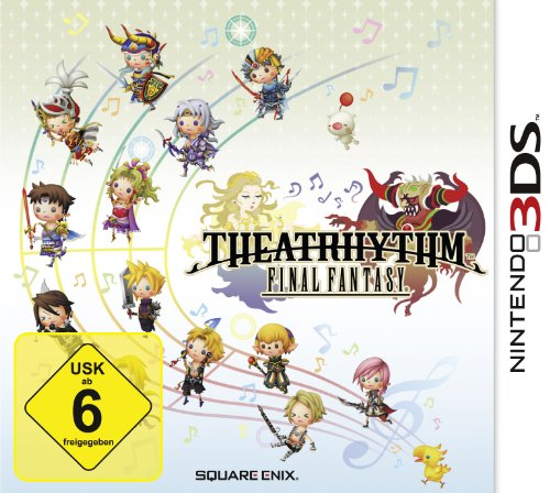 Theatrhythm: Final Fantasy Nintendo 3DS artwork