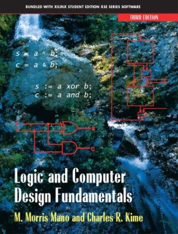 Logic and Computer Design Fundamentals  3rd 2004 edition cover