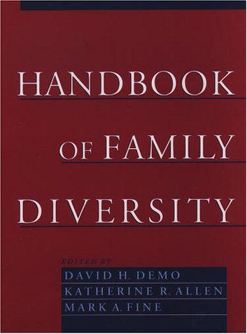 Handbook of Family Diversity   2000 edition cover
