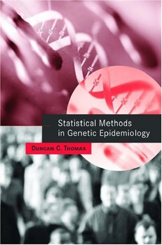 Statistical Methods in Genetic Epidemiology   2004 edition cover