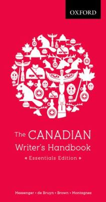 Canadian Writer's Handbook   2012 9780195430394 Front Cover