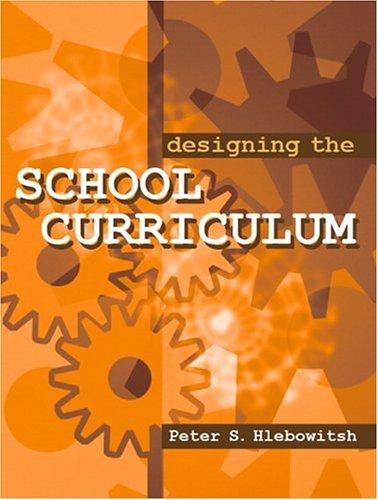 Designing the School Curriculum   2005 edition cover