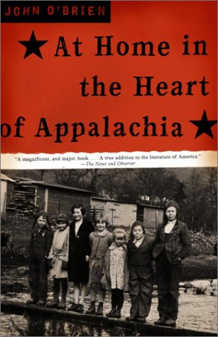 At Home in the Heart of Appalachia  Reprint  edition cover