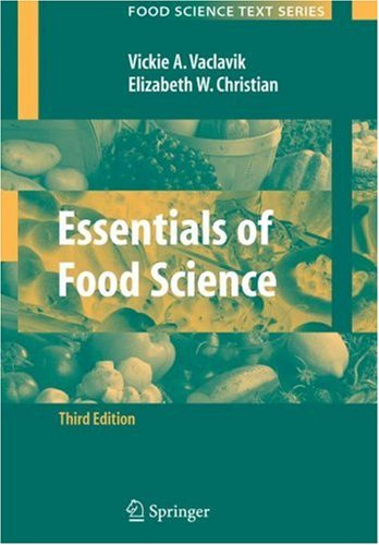 Essentials of Food Science  3rd 2008 (Revised) edition cover