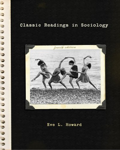 Classic Readings in Sociology  4th 2007 (Revised) edition cover