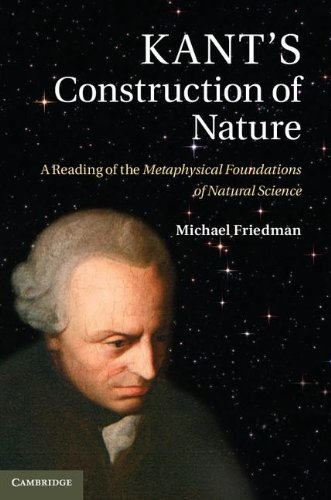 Kant's Construction of Nature A Reading of the Metaphysical Foundations of Natural Science  2013 9780521198394 Front Cover