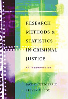 Research Methods in Criminal Justice An Introduction 3rd 9780534534394 Front Cover