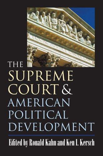 Supreme Court and American Political Development   2006 edition cover