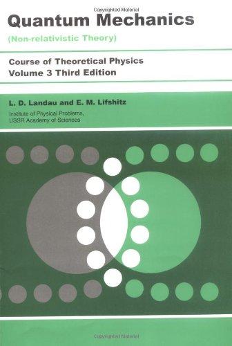 Quantum Mechanics - Non-Relativistic Theory  3rd 1981 (Revised) edition cover