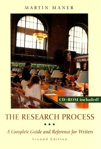 Research Process A Complete Guide and Reference for Writers 2nd 2000 edition cover