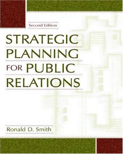 Strategic Planning for Public Relations  2nd 2004 (Revised) edition cover