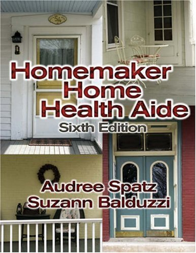 Homemaker Home Health Aide  6th 2005 (Revised) edition cover