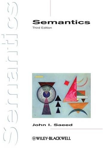 Semantics  3rd 2009 edition cover