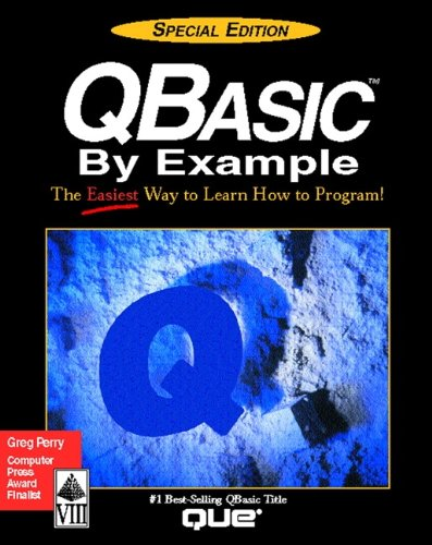 QBasic  2nd 1993 (Special) edition cover