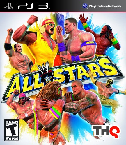 WWE All Stars PlayStation 3 artwork