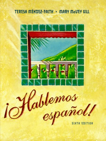 Hablaemos Espanol! 6th 1998 edition cover