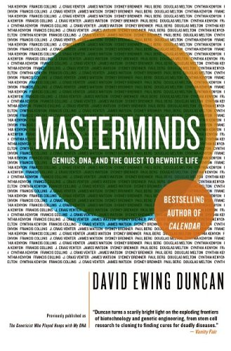 Masterminds Genius, DNA, and the Quest to Rewrite Life N/A 9780060537395 Front Cover