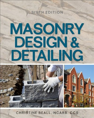 Masonry Design and Detailing Sixth Edition  6th 2012 9780071766395 Front Cover