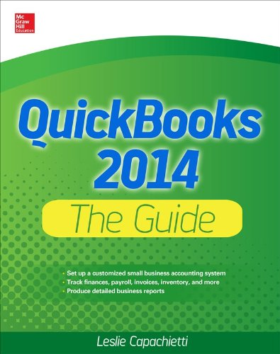 QuickBooks 2014 the Guide  2nd 2014 edition cover