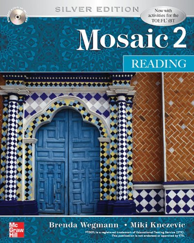 Mosaic 2 Reading Student Book w/ Audio Highlights Silver Edition 5th 2007 9780073337395 Front Cover