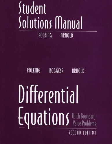 Differential Equations  2nd 2006 edition cover