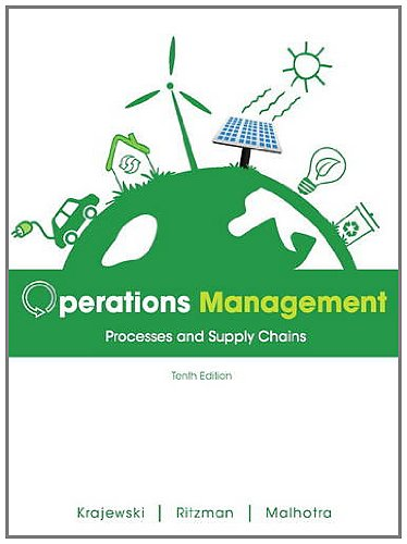 Operations Management Processes and Supply Chains 10th 2013 (Revised) 9780132807395 Front Cover