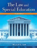 The Law and Special Education + Enhanced Pearson Etext Access Card:   2015 edition cover