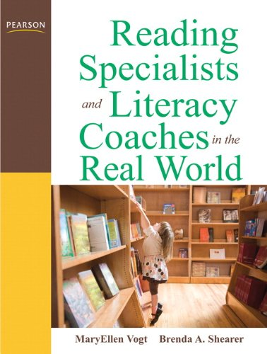 Reading Specialists and Literacy Coaches in the Real World  3rd 2011 edition cover