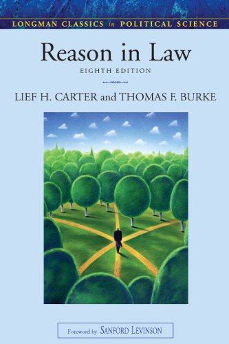 Reason in Law  8th 2010 (Revised) edition cover