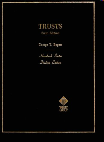 Hornbook on Trusts  6th 1987 edition cover