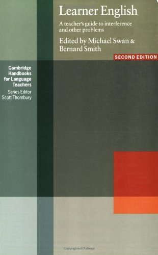 Learner English A Teacher's Guide to Interference and Other Problems 2nd 2001 edition cover