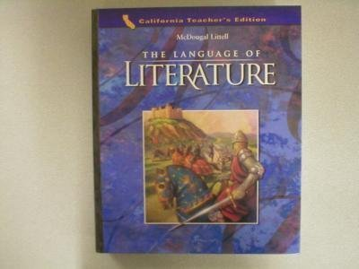 Language of Literature  Teachers Edition, Instructors Manual, etc.  9780618170395 Front Cover
