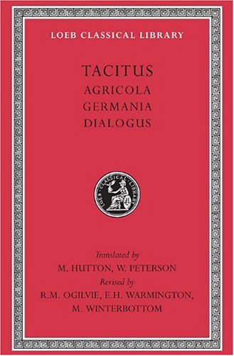Tacitus Agricola, Germania, Dialogus  1970 (Revised) edition cover