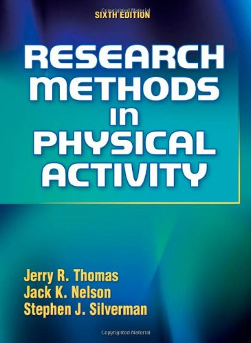 Research Methods in Physical Activity  6th 2011 edition cover