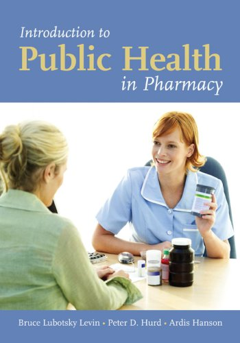 Introduction to Public Health in Pharmacy   2008 edition cover