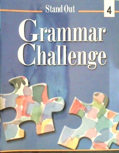 Stand Out Level 4 : Grammar Challenge N/A edition cover