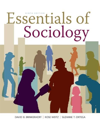 Essentials of Sociology  9th 2014 edition cover