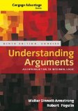 Understanding Arguments An Introduction to Informal Logic 9th 2015 edition cover