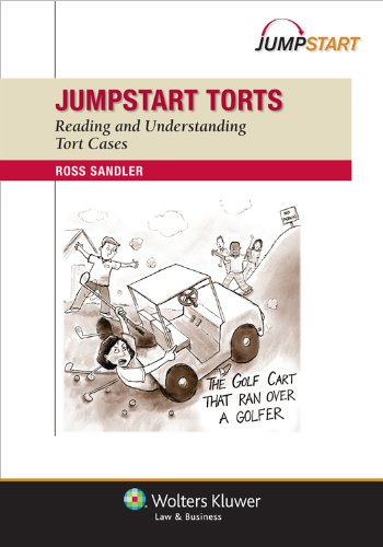 Jumpstart Torts Reading and Understanding Tort Cases  2012 (Student Manual, Study Guide, etc.) edition cover