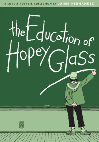 Education of Hopey Glass   2008 9781560979395 Front Cover