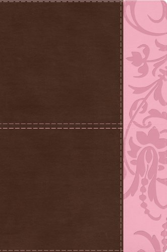 Study Bible for Women, Brown/Pink LeatherTouch Indexed   2014 edition cover